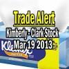 Trade Alert – Kimberly-Clark Stock (KMB) – May 21 2013