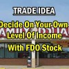 Trade Ideas – Family Dollar Stock Allows Investors To Control Monthly Income Earned – Oct 23 2013