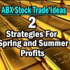 ABX Stock Two Strategies For Spring and Summer Profits – May 4 2014