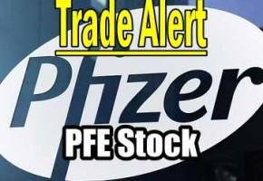 Trade Alert – Pfizer Stock (PFE) – Feb 1 2016