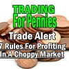 Trade Alert – SPY ETF – Trading For Pennies Strategy Trade – 7 Rules For Profiting In A Choppy Market