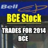 BCE Stock (BCE) Trades For 2014