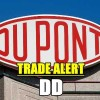 Trade Alert – DuPont Stock (DD) for Apr 23 2015 – Covered Calls