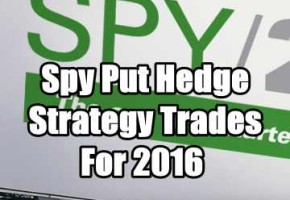 Spy ETF Hedge Strategy Trades Summary For 2016