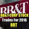 BBT Stock (BBT) Trades For 2016