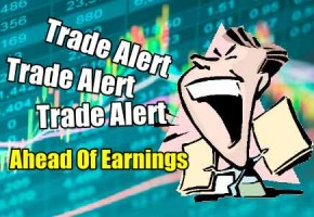 Goal of 45% Return for Third Trade Ahead Of Earnings Strategy Setup for Apr 22 2020