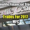 Manulife Stock (MFC) Trades For 2017