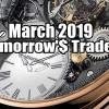 Update Of Tomorrow's Trade Portfolio Ideas for Fri Mar 22 2019