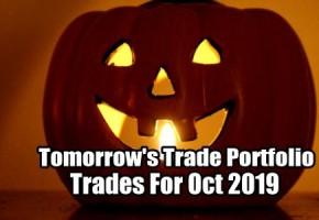 Tomorrow's Trade Portfolio Ideas for Oct 7 2019