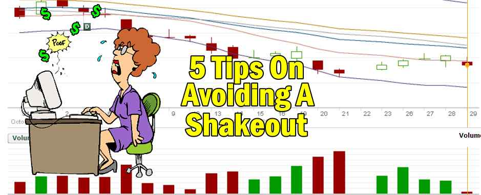 How To Avoid Being Shaken Out Of A Trade