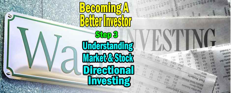 Becoming A Better investor – Step 3 – Understanding Market and Stock Directional Investing