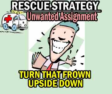 Rescue Strategy On Unwanted Assigned Shares – Turn That Frown Upside Down
