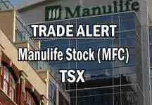 Trade Alert Manulife Stock