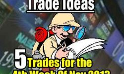 5 Trade Ideas For The 4th Week Of Nov 2013