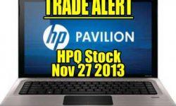 Trade Outline for Hewlett-Packard Stock (HPQ) - Jan 16 2015