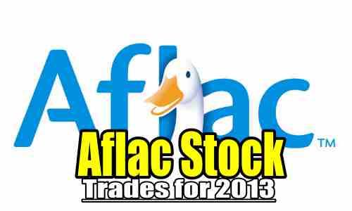 AFLAC Stock (AFL) 2013 Trades