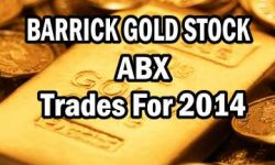 Barrick Gold Stock Trades For 2014