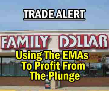 Trade Alert – Using The EMAs To Profit From The Family Dollar Stock (FDO) Plunge – Jan 9 2014