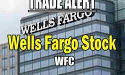 Wells Fargo Stock trade alert