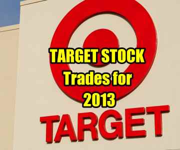 Target Stock (TGT) Trades For 2013