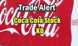 trade alert Coca Cola Stock