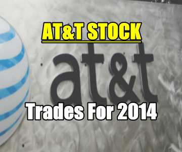 AT&T Stock (T) Trades For 2014