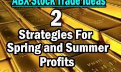 Barrick Stock 2 Trade Ideas May 4 2014