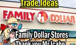 Family Dollar Stores Stock FDO trade ideas