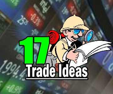 17 Trade Ideas for Thursday Oct 9 2014