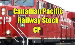 Canadian Pacific Railway Stock CP