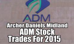 Archer Daniels Midland Stock Trades for 2015