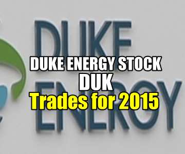 Duke Energy Stock (DUK) Trades For 2015