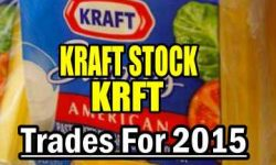 Kraft Foods Stock Trades for 2015