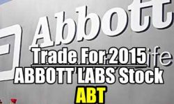 Abbott Labs Stock Trades For 2015
