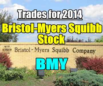 Bristol-Myers Squibb Stock Trades for 2014