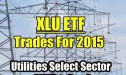 XLU ETF Trades for 2015 summary