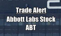 Abbott Labs Stock trade alert