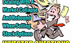 Investor Questions - Dealing with a market collapse and rebound