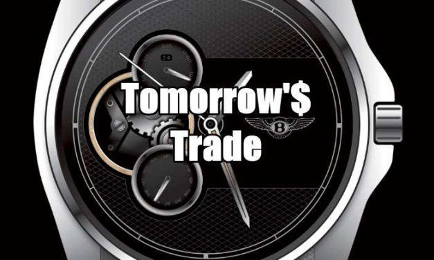 Tomorrow's Trade for May 3 2016