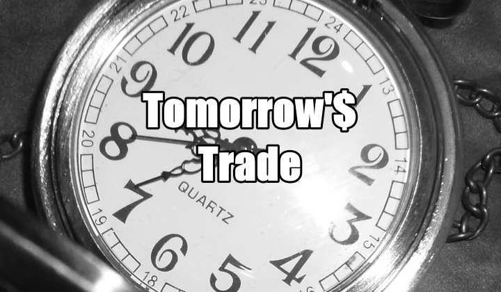 Tomorrow's Trade for Nov 19 2015
