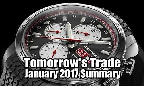 Tomorrow's Trade Portfolio – January 2017 Summary