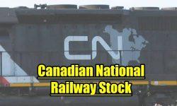 Canadian National Railway Stock CNR