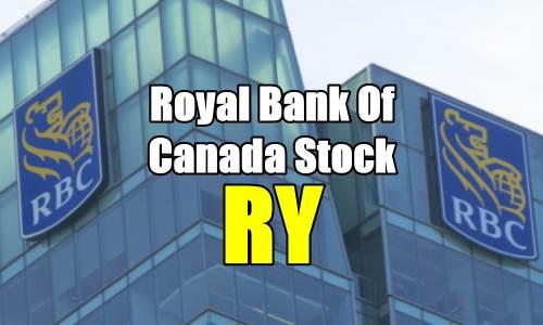 Royal Bank of Canada Stock (RY) Trade Alert – Oct 5 2017