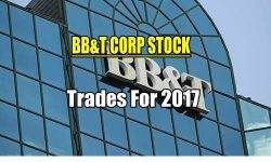 BB&T Stock trades for 2017