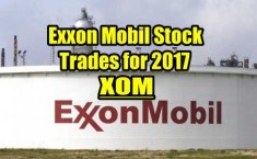 Exxon Mobil Stock Trades for 2017 Summary