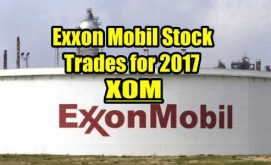 Exxon Mobil Stock Trades for 2017 Summary