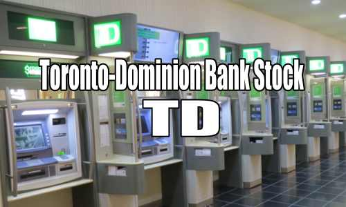 Selling Options For Income In Toronto-Dominion Bank Stock (TD) For Feb 16 2017