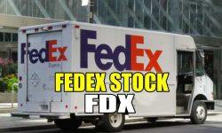 FEDEX Stock FDX