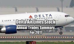 Delta Stock DAL Annual Trades Summary for 2017