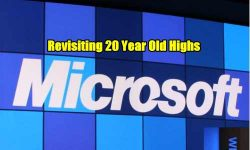 Microsoft Stock - old highs